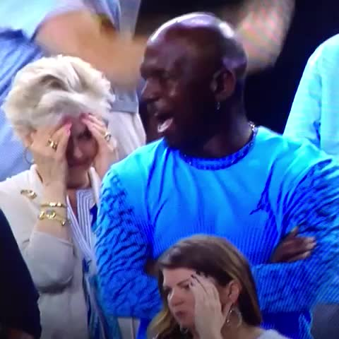 Michael Jordan's Reaction to Villanova's Buzzer Beater Defeating North Carolina