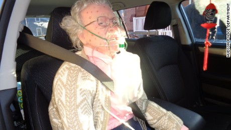 """Frozen elderly woman"" locked inside a car turns out to be a medical mannequin"