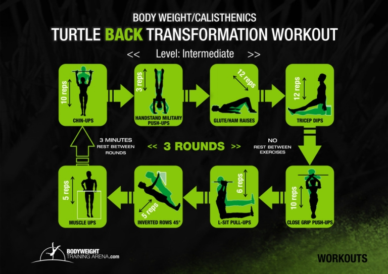 Top Bodyweight Back Exercises and Workout Routines