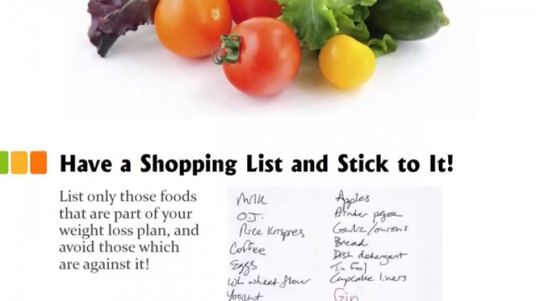 9 Shopping Tips for Weight Loss