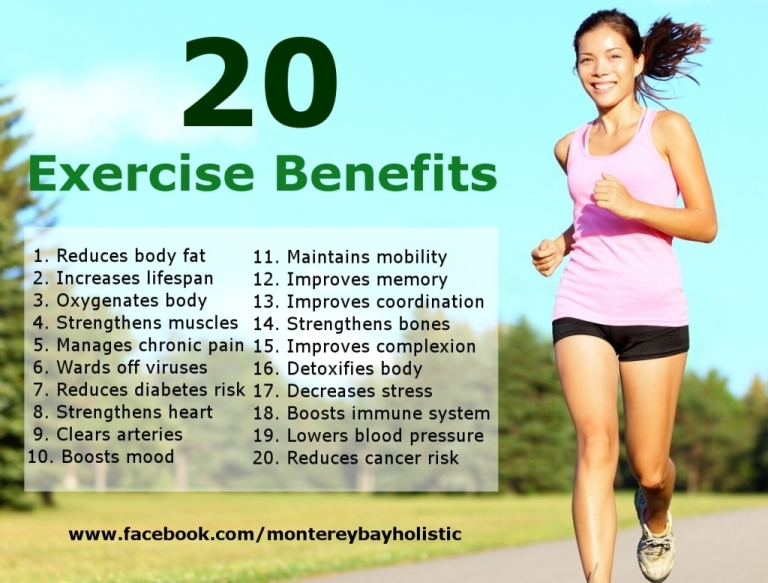 Reasons Why You Need to Exercise - Benefits of Regular Physical Activity