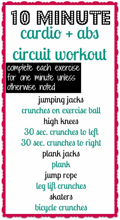Best 10 Minute Cardio Workouts for Fat Burning