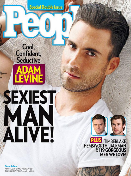 "Adam Levine called ""Ultra-Douce"" by someone at BuzzFeed 
