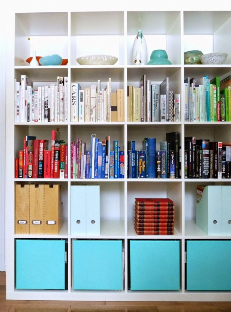 Diy Ikea Expedit Bookshelf Hack Interior Design Dizkover