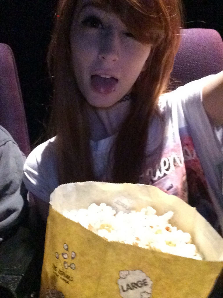 Someone should bring me to the movies againnnn :P