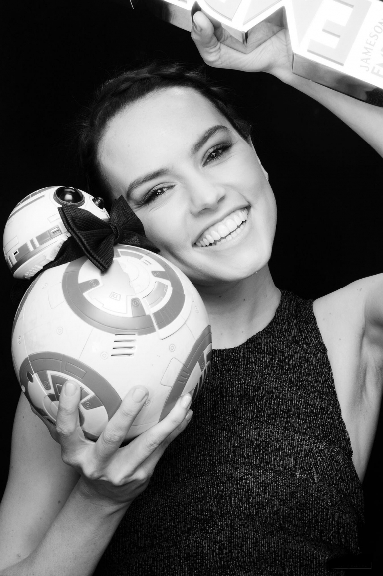 A mini BB-8 or a Daisy Ridley? Pick one...