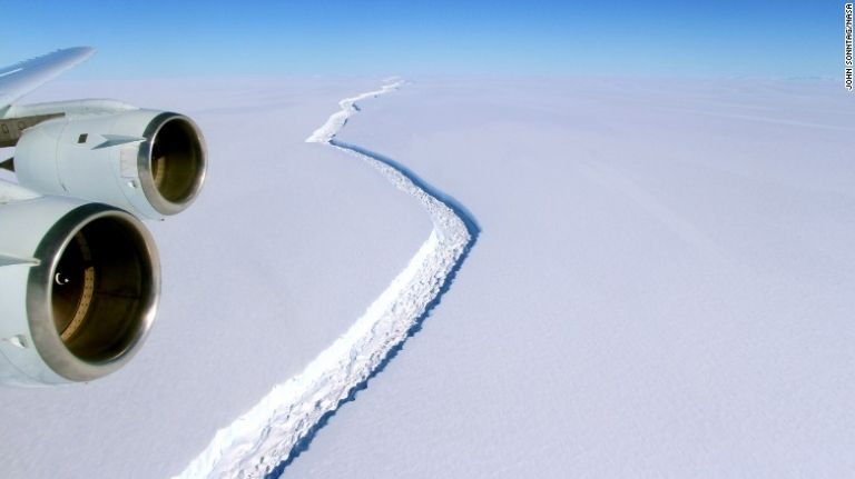 Iceberg the size of Delaware to break off of Antarctica