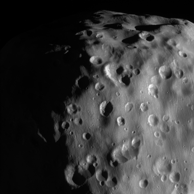 Hi-Res Photo of Saturn Moon Epimetheus
