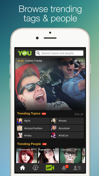 Younow - Broadcast, Chat And Watch Live Video - Apps -9255