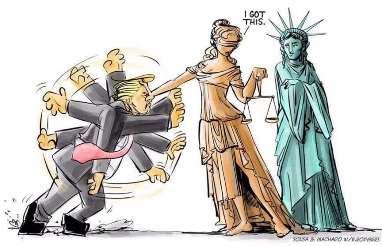 Trump got rejected by Judiciary #NoBanNoWall