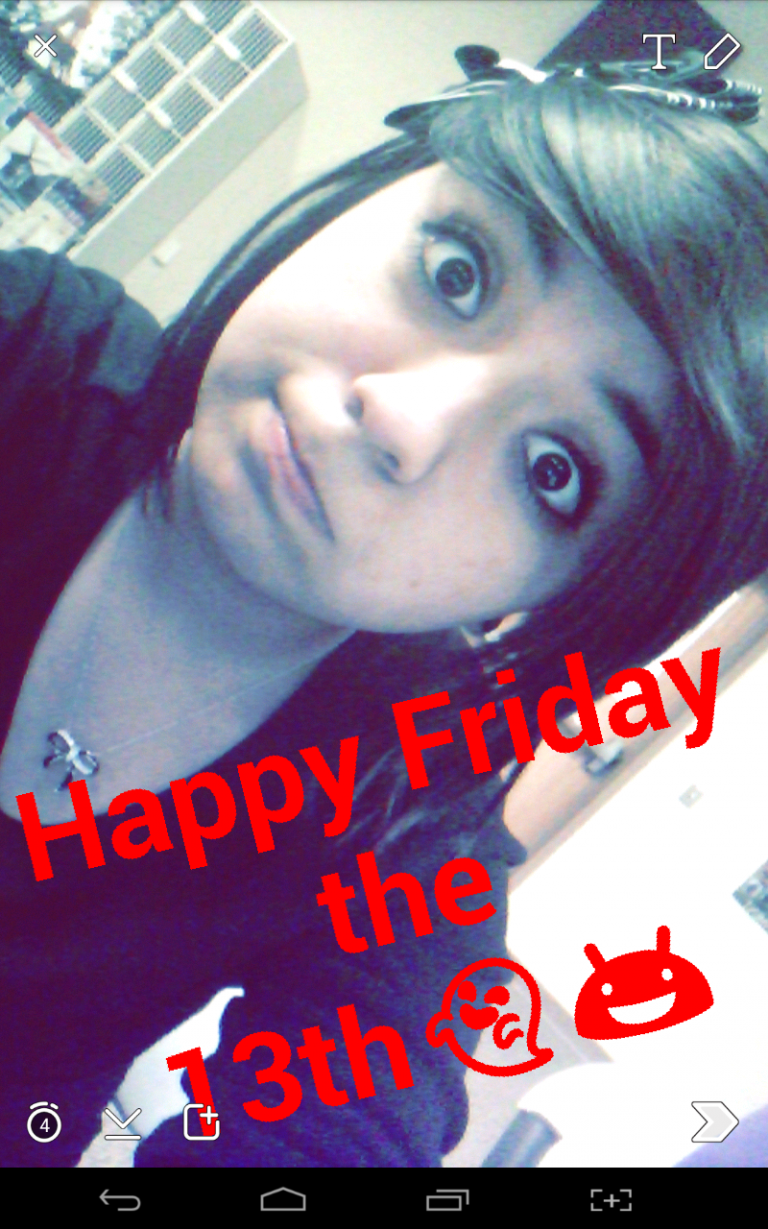 #Selfie Happy Friday the 13th everybody. :)