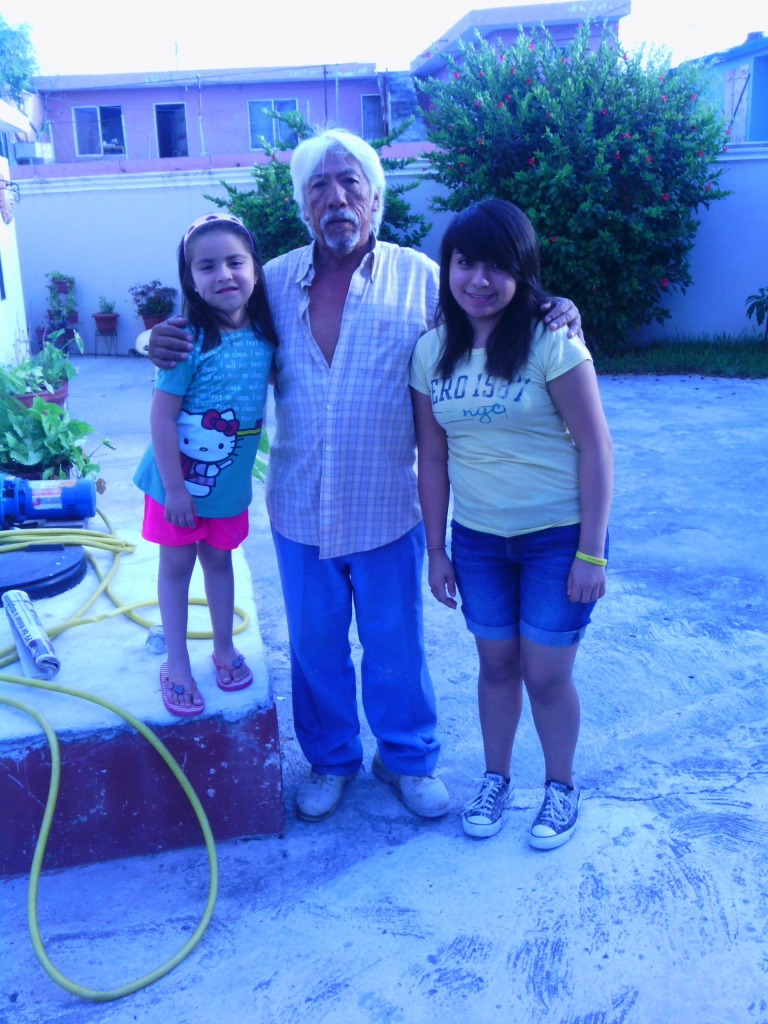 I feel so unconnected with my grandpa, too Much violence where he lives ... I miss u gramps. :c This pic was taken two summer's ago