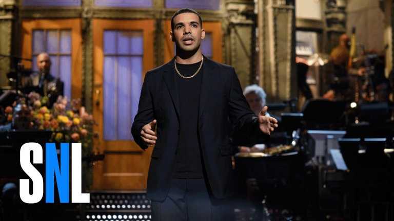Drake's Rihanna Impression on SNL