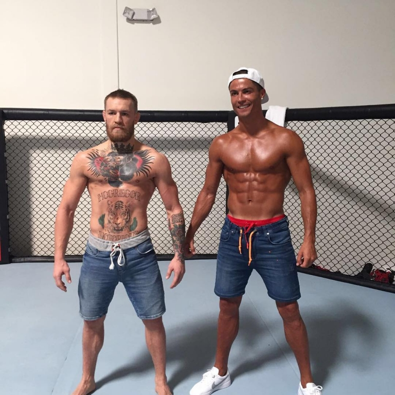 #Challenge: Conor Mcgregor vs Cristiano Ronaldo: Who got the best body?