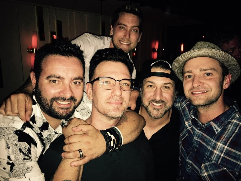 NSYNC reunion just happened!