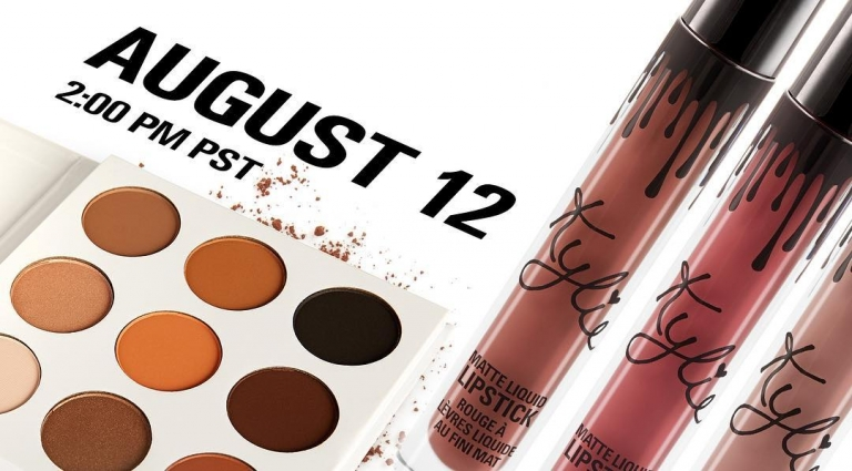 Kylie cosmetic fans, #KYSHADOW Kristen, Maliboo, Ginger is back along tomorrow!