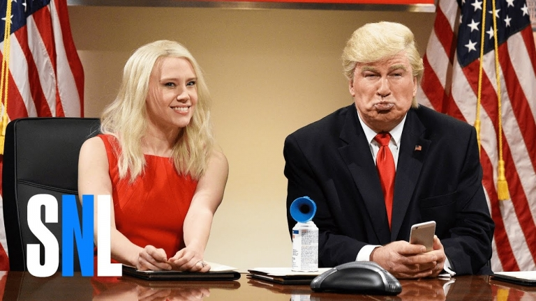 SNL mocked Trump for his compulsive Tweeting, 45 mins later, Trump tweeted about it