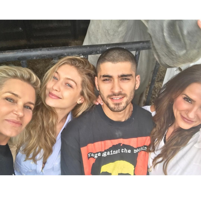 Gigi Hadid and ZAYN celebrating Eid al-Adha along with their family