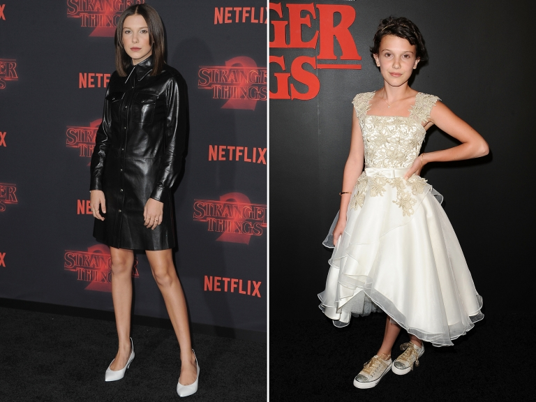 Millie Bobby Brown looks all grown up in Stranger Things red carpet event