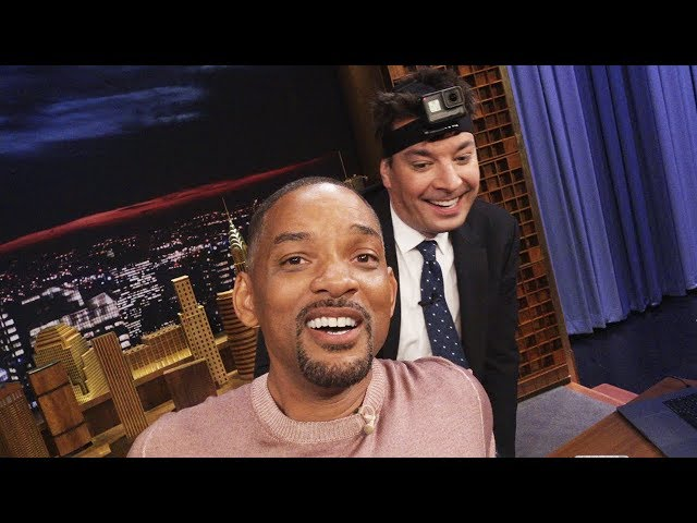 Will Smith Celebrates 1 Million YouTube Subscribers at The Tonight Show w/ Jimmy Fallon
