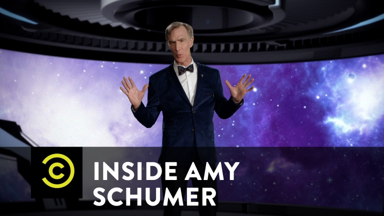 Bill Nye And Amy Schumer Talks About The Universe