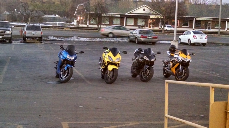 Had a little cruise with the crew yesterday. #bikelife #600ccClub