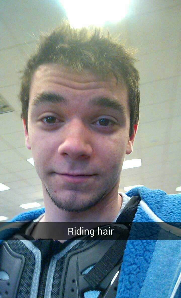 #bikeproblems, Riding hair to the max lmao. hmu on #snapchat L33tmaster95