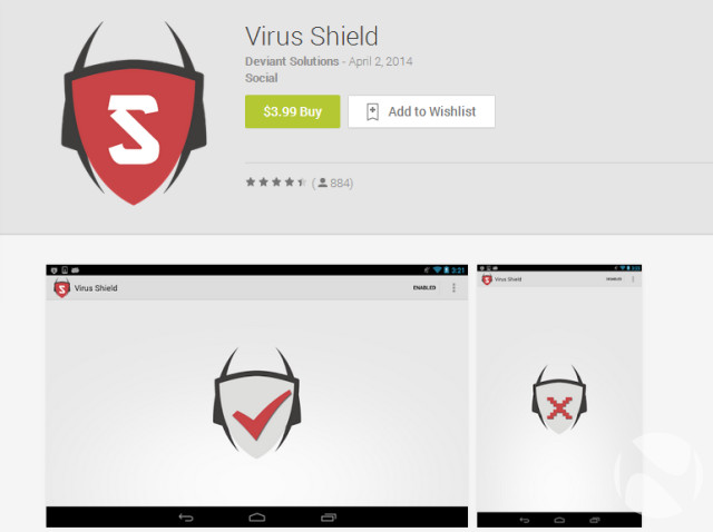 'Virus Shield', the #1 paid app in the Google Playstore is a #scam