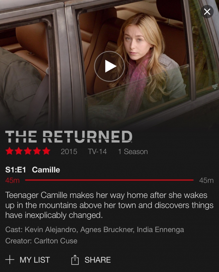What To Watch: The Returned
