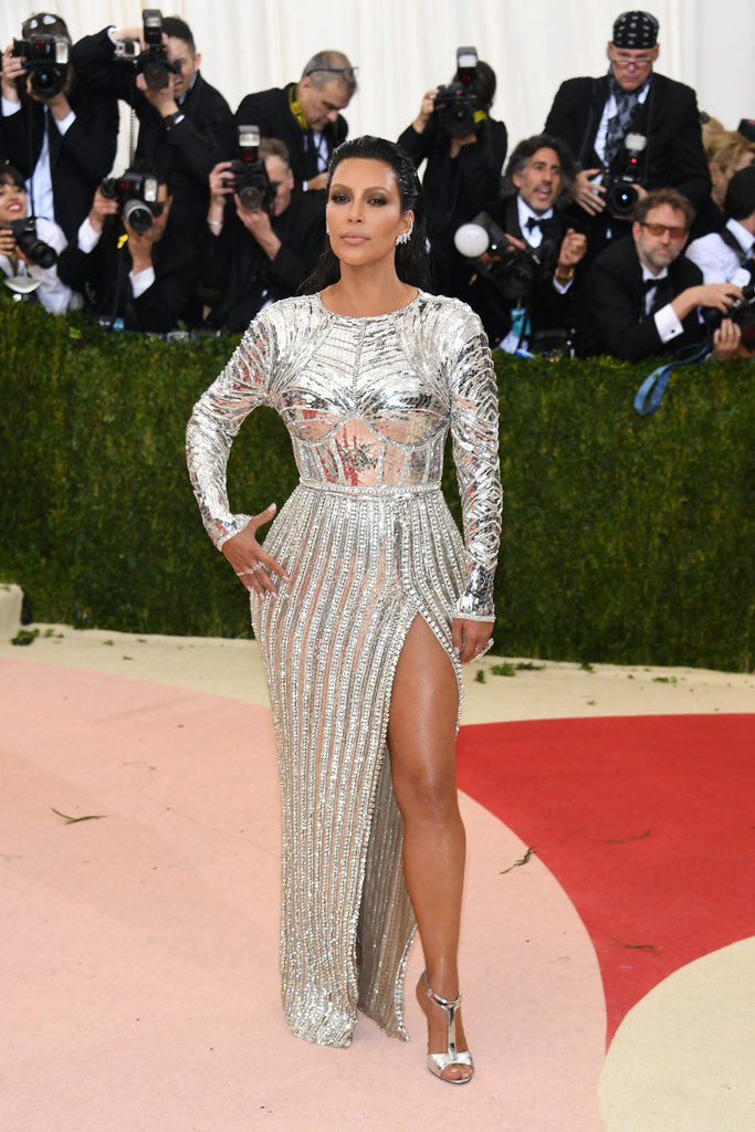 Kim Kardashian at Met Gala 2016 Red Carpet