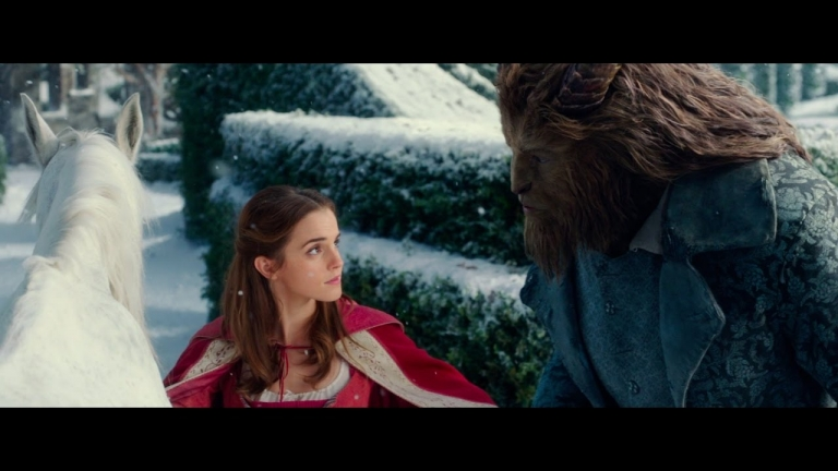 "Emma Watson sings on the latest Disney's ""Beauty and the Beast"" trailer"