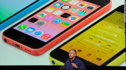 Apple unveils two new #iPhone -- the 5S and 5C
