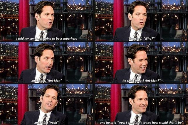 What Paul Rudd's Son Think of His Movie 'Ant-Man'...
