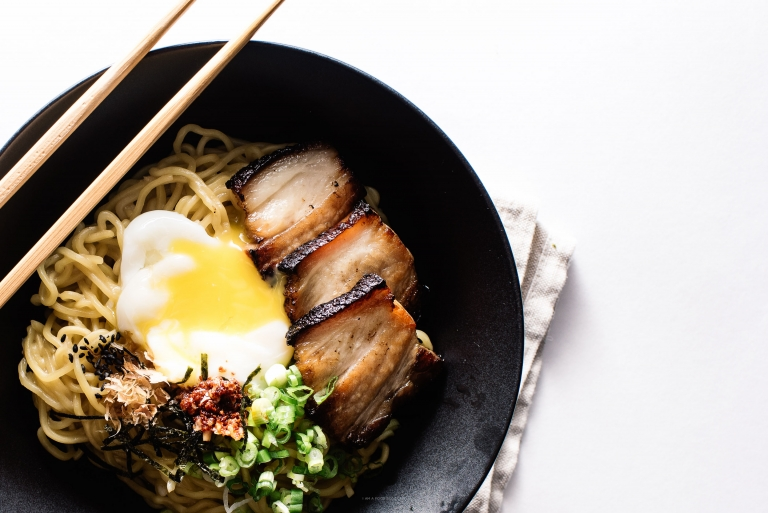 Bacon and Egg Breakfast Ramen