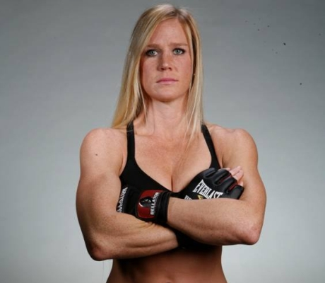 What is Holly Holm's Snapchat username?
