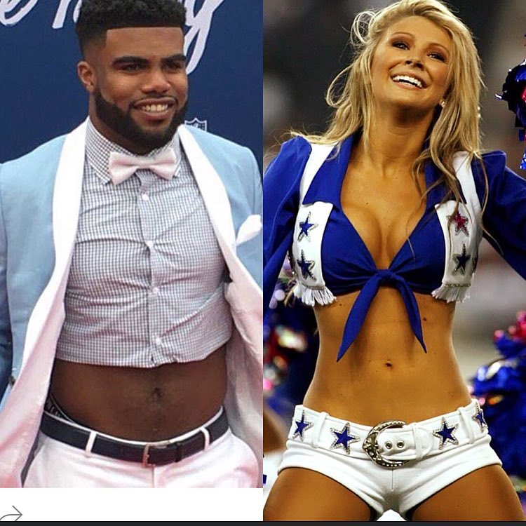 Welcome to the Dallas Cowboys squad Ezekiel Elliott