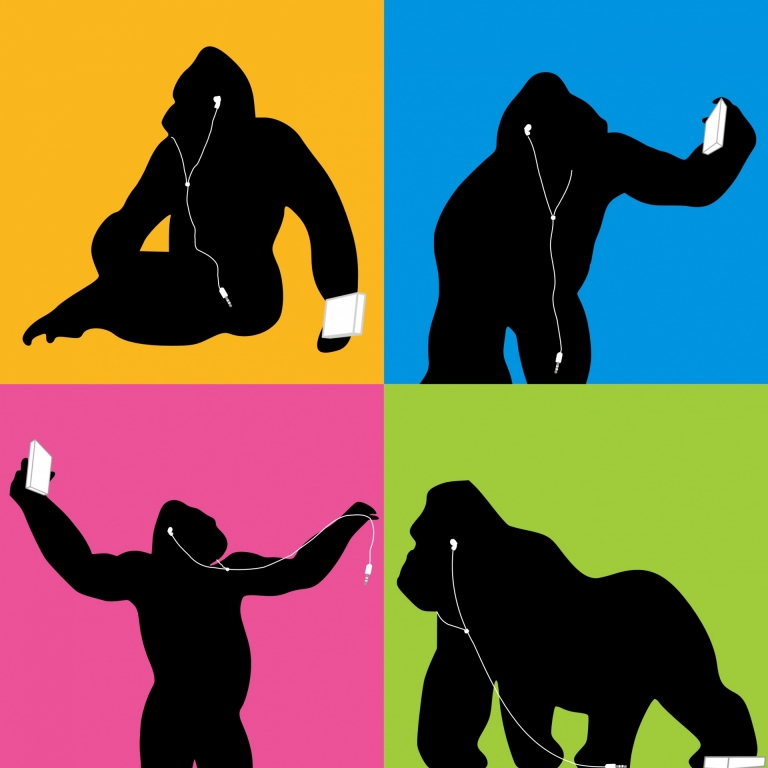 A tribute to the two greats we've lost, Harambe and the 3.5mm jack #JacksOutForHarambe