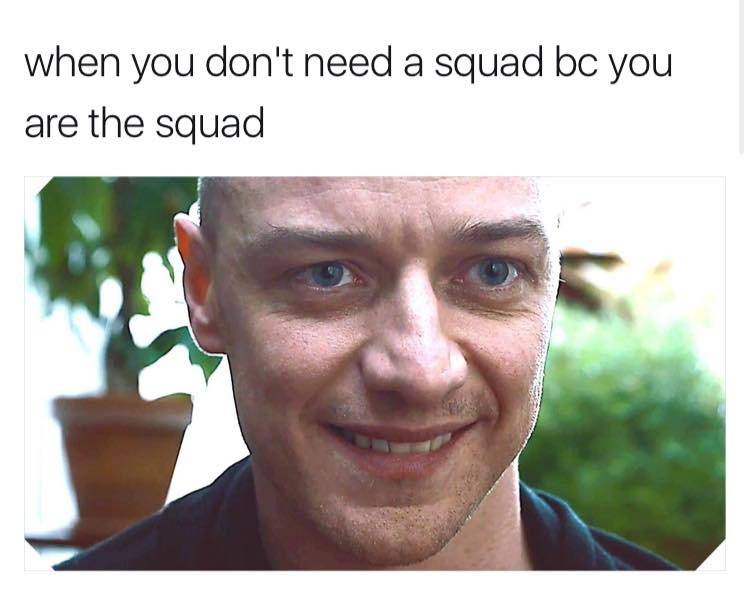 #Split: When you don't need a squad...