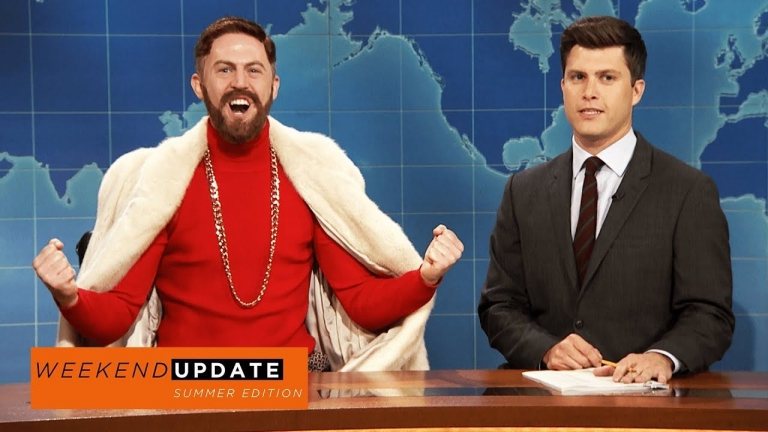 Conor McGregor Explains on #SNL How He's Going to Defeat Floyd Mayweather