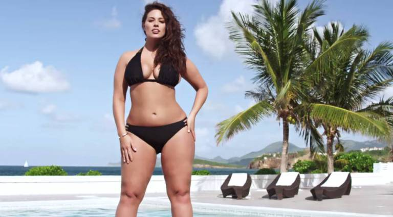 Ashley Graham In Bikini