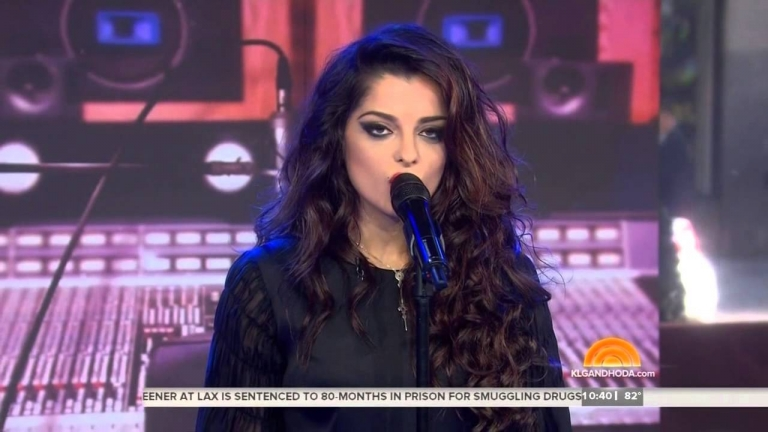 Bebe Rexha Sings 'I Can't Stop Drinking About You' On TODAY Show