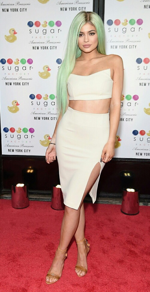 Kylie Jenner Style at Sugar Factory Grand Opening in NYC