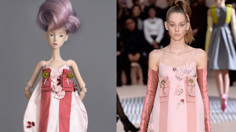 The Modoll Project, a 3D-printed Doll of Supermodel Lindsey Wixson