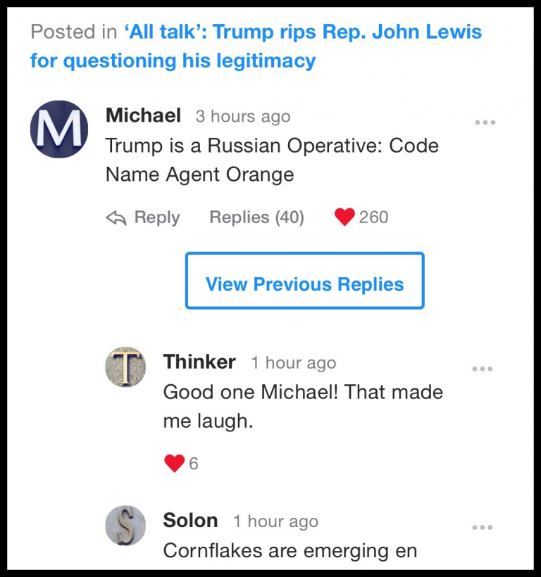#FunnyYahooComments: Trump is a Russian Operative: Code Name Agent Orange
