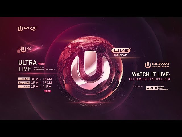 ULTRA LIVE presents Ultra Music Festival 2018 - DAY1 #ULTRA20