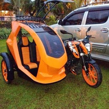 Not sure if it belongs here... but this is the Ferrari of tricycles