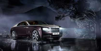 #RollsRoyce Wraith, powerful and sophisticated...