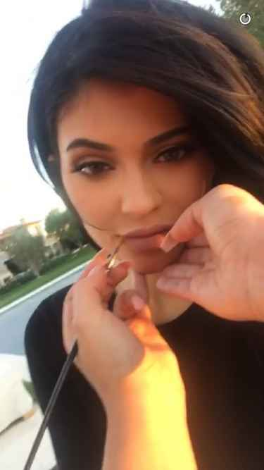 Kylie Jenner sends a snapchat post-breakup with Tyga
