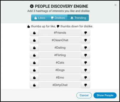 "#Announcement: New Feature Called ""People Discovery Engine"""