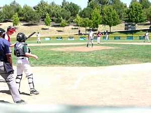 Kid hits homer during an intentional walk #Funny_Sports